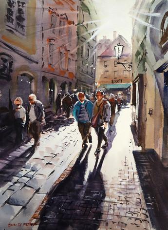 Sunday Afternoon Prague