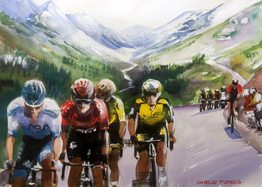 Stage 20 Final Ride in the Beautiful Alp