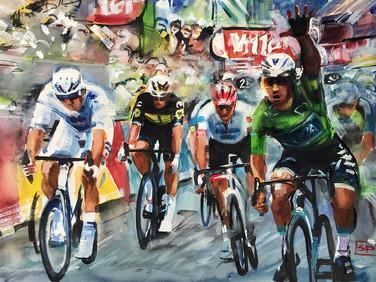 13 Sagan Salutes winning 5 stages