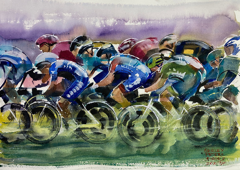 Rhythm and Speed, Stage 3.