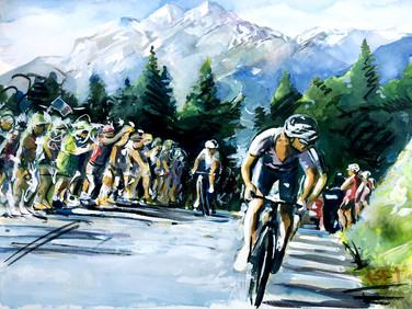 11 Team Sky Climbing Alpes