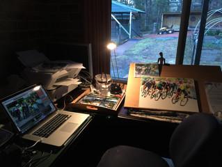 Still painting Le Tour!