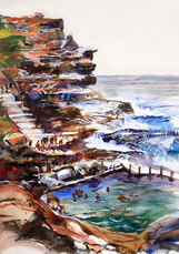 In the cool, Mahon Pool (sold)
