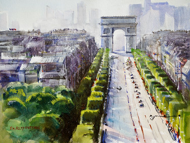 Arc de Triumph in Paris Stage 21