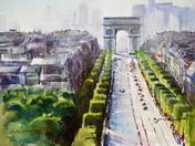 Arc de Triumph in Paris Stage 21