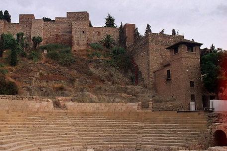 kasteel in Malaga
