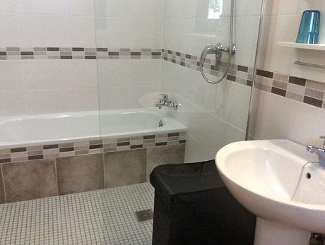 badkamer voor slaapkamer 1