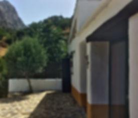 zijkant huis