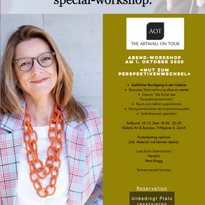 Einladung geführter Spezial-Workshop am 1.10.2020