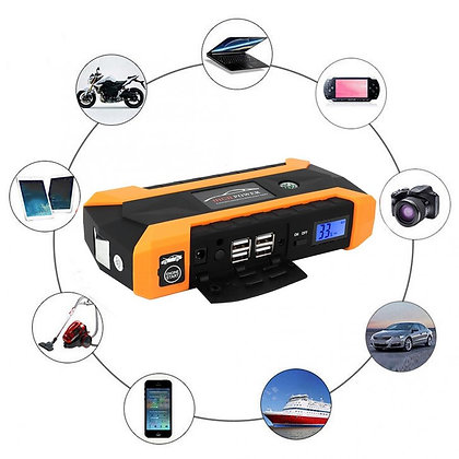 Car Jump Starter Power Bank Portable 12V  Battery Charger 20000mAh