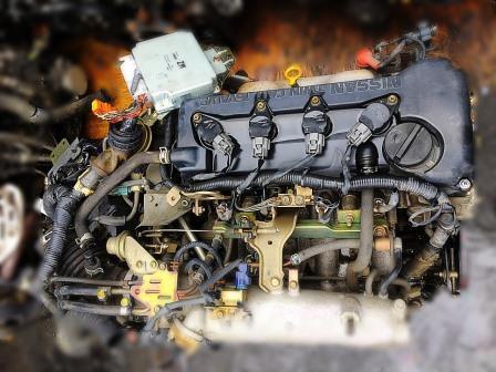 NISSAN QG15 Engine
