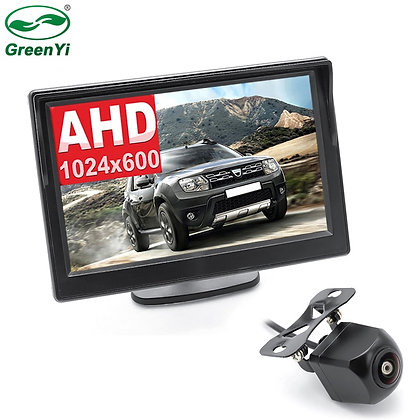 AHD IPS Screen 5 Inch Car Inside Parking Monitor With 170 Degrees 1280*720P