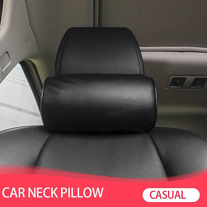 1 Pcs Car Styling Seat Neck Pillow Protection PU