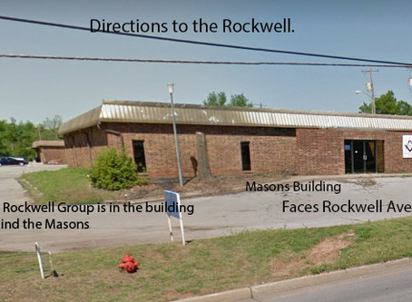 Directions to the Rockwell: