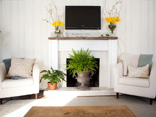 How to Decorate Your Fireplace in the Summer