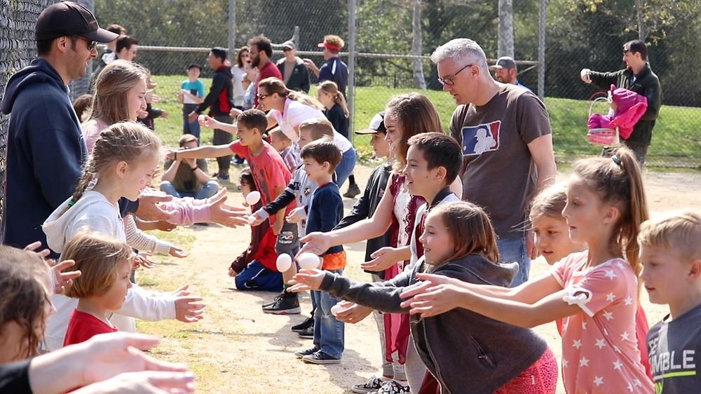 SLO San Luis Obispo nazarene church family community free event Easter egg hunt