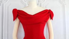 Constructing the Jacques Fath Vogue #1265 Dress