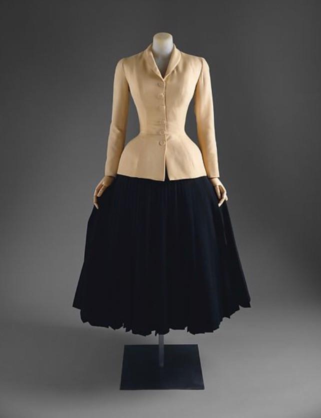 "Bar Suit ""Spring/Summer 1947, MET Museum"