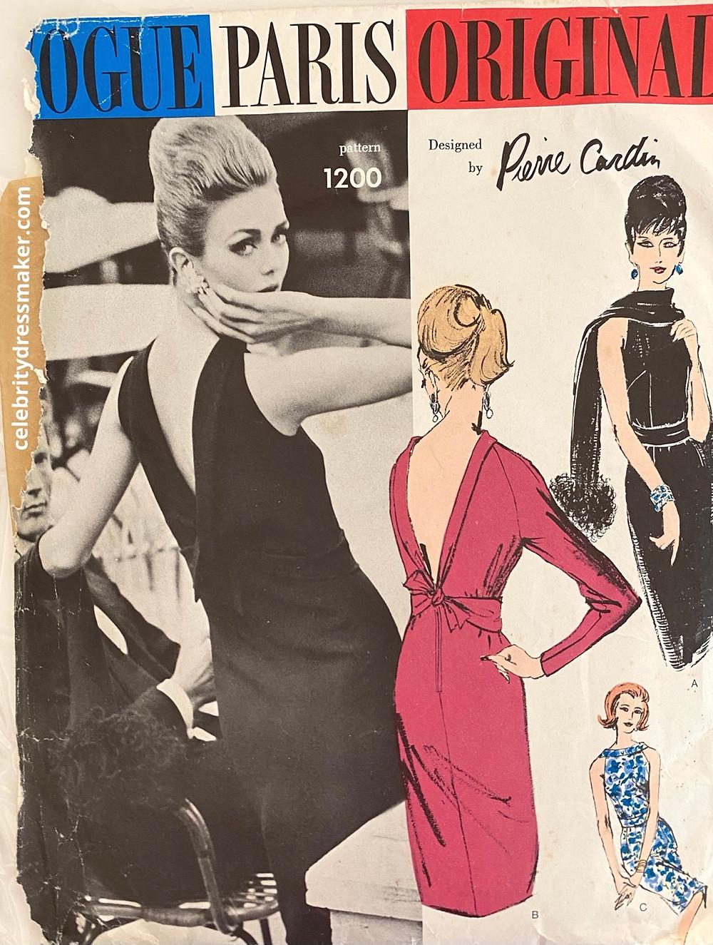 Vogue Paris Original #1200, Design by Pierre Cardin