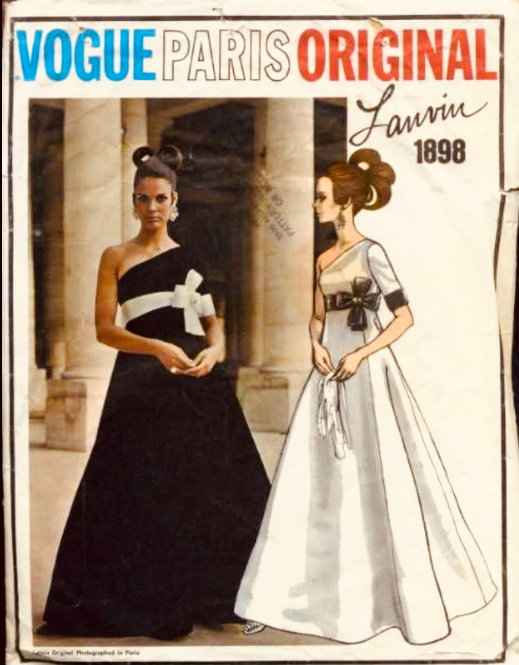 Vogue Paris Original #1898; c.1968; Lanvin by Crahay