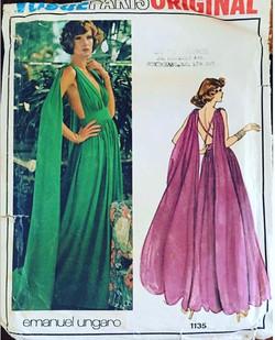 Emanuel Ungaro gown c.1974