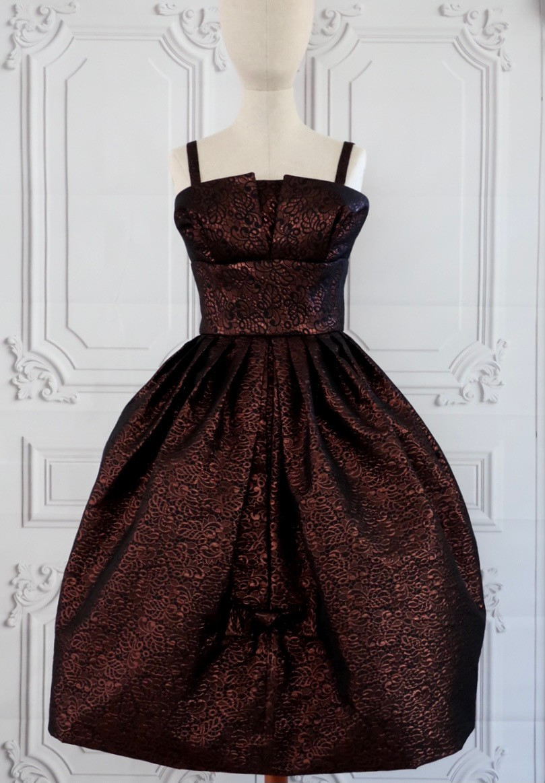 Simonetta Dress V101 with Straps