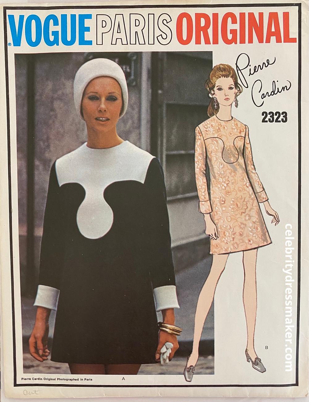 Vogue Paris Original #2323, Design by Pierre Cardin