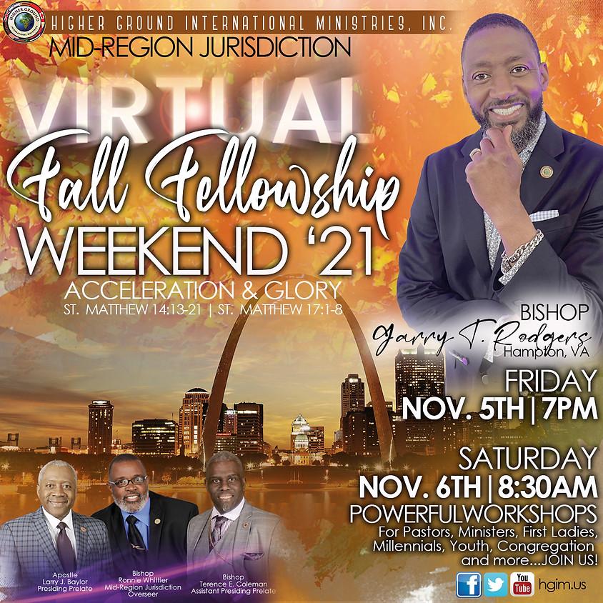 HGIM Mid-Region Jurisdiction Virtual Fall Fellowship Weekend 21'
