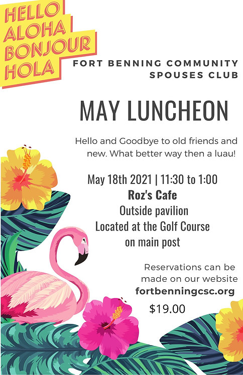 May 2021 Luncheon