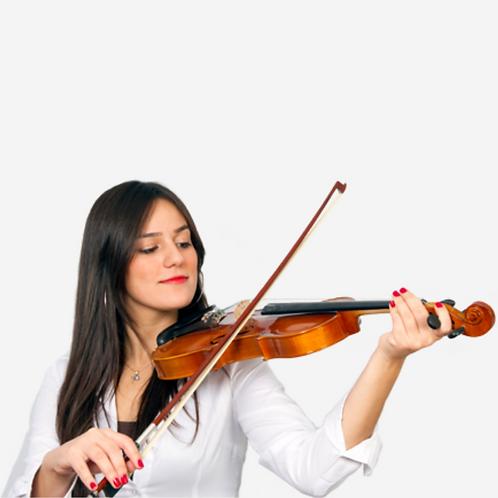 Curso de violino  | 60 min | Presencial