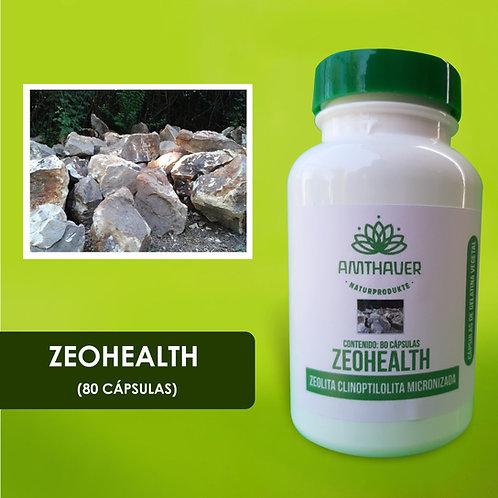 Zeohealth 80 cap. Zeolita Activada y Micronizada