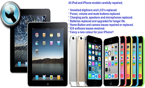 ipad and iphone repairs Brentwood