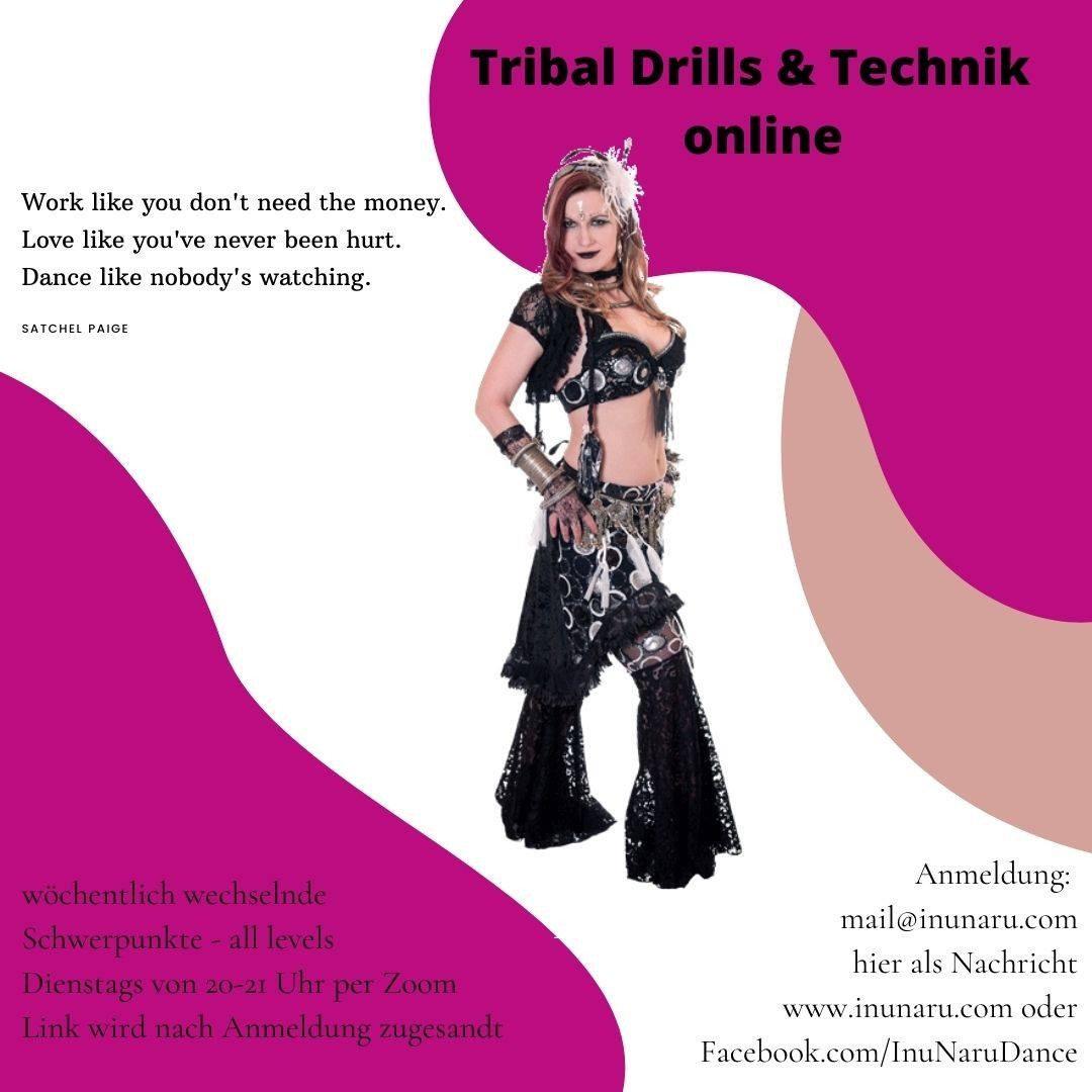 ONLINE Tribal Fusion Technik & Drills