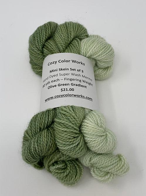 Olive Green Gradient