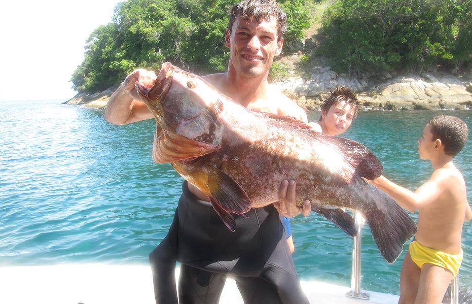 Spearfishing in Ilha Grande
