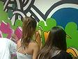 נוער, אומנות, ציורי קיר, סדנת גרפיטי, קיר גרפיטי נייד, שפע סדנאות ואומנות