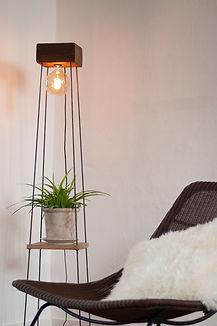 staande verlichting - vloerlamp - Toko design - floor lamp - handmade lamp - handgemaakte verlichting - design lamp