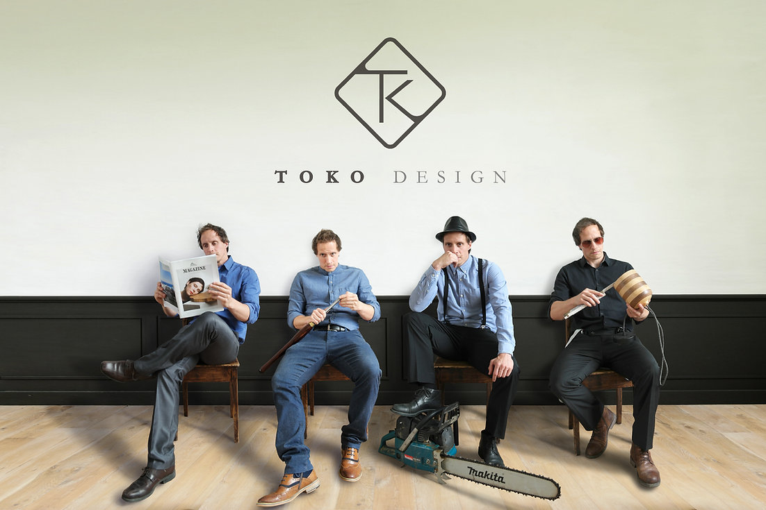 toko design - team - Tom Vanderleyden - handmade lamps - design lamps