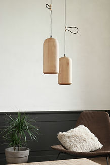 hanglamp - pendant lamp - Toko design - design verlichting - design lamp - wood lamp