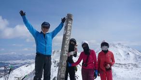 春山スキー ニトヌプリ