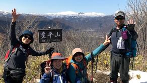 初夏の暖かさの焼山(豊平山)