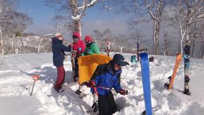 もう一つの冬山入門・境山