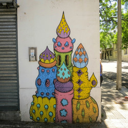 Montevideo street art, A2A