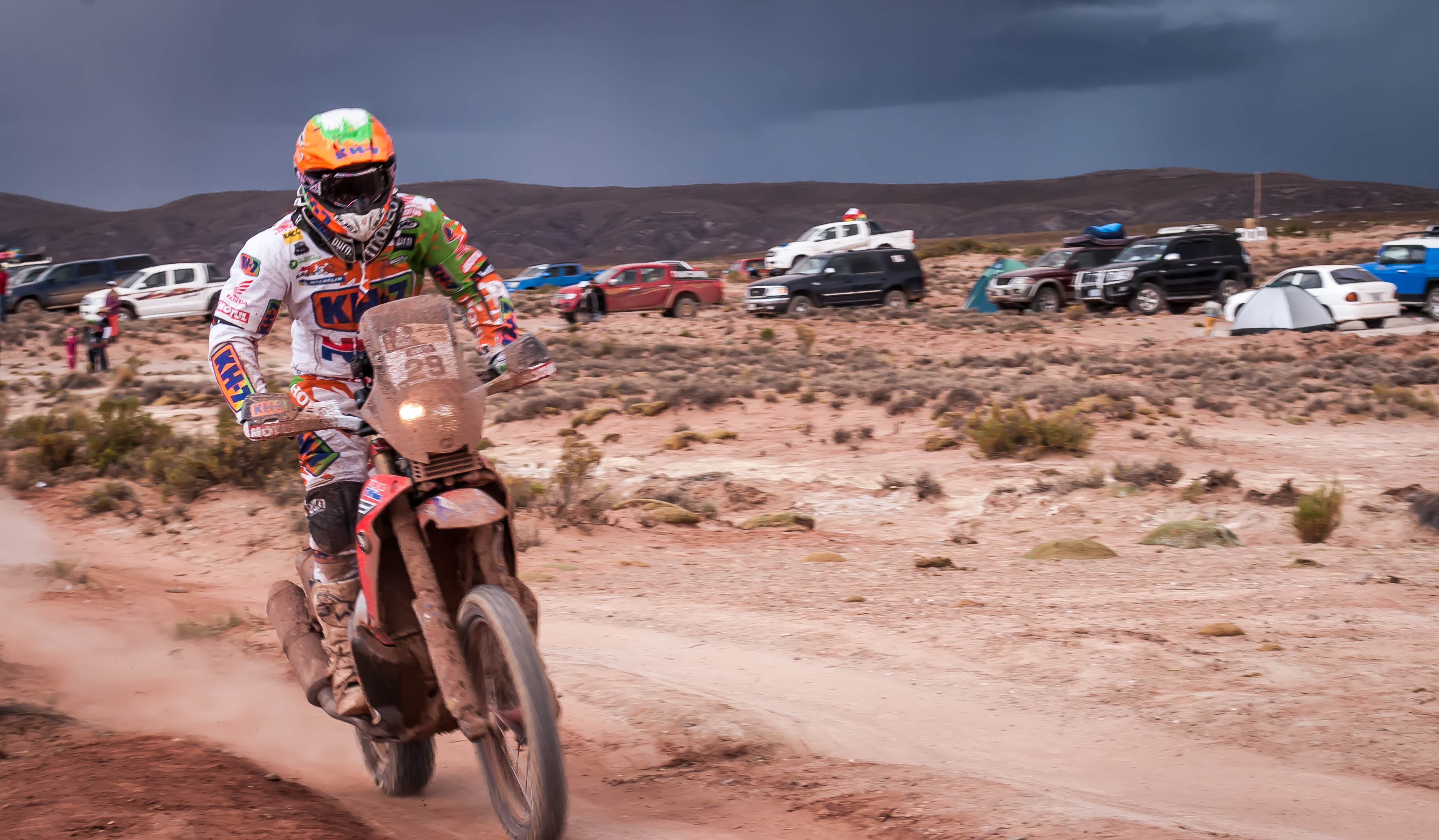 The Dakar Rally, Uyuni 2015