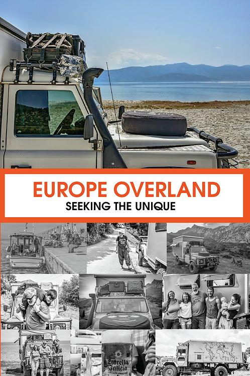 Europe Overland Paperback