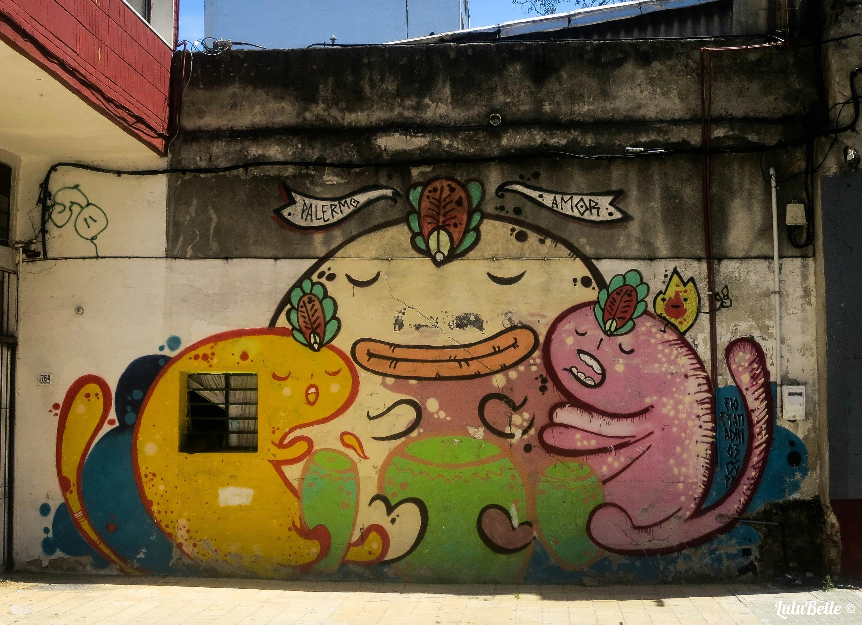 Montevideo street art, A2A