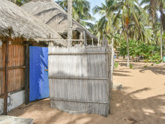 Shower block, Togo Beach Camping