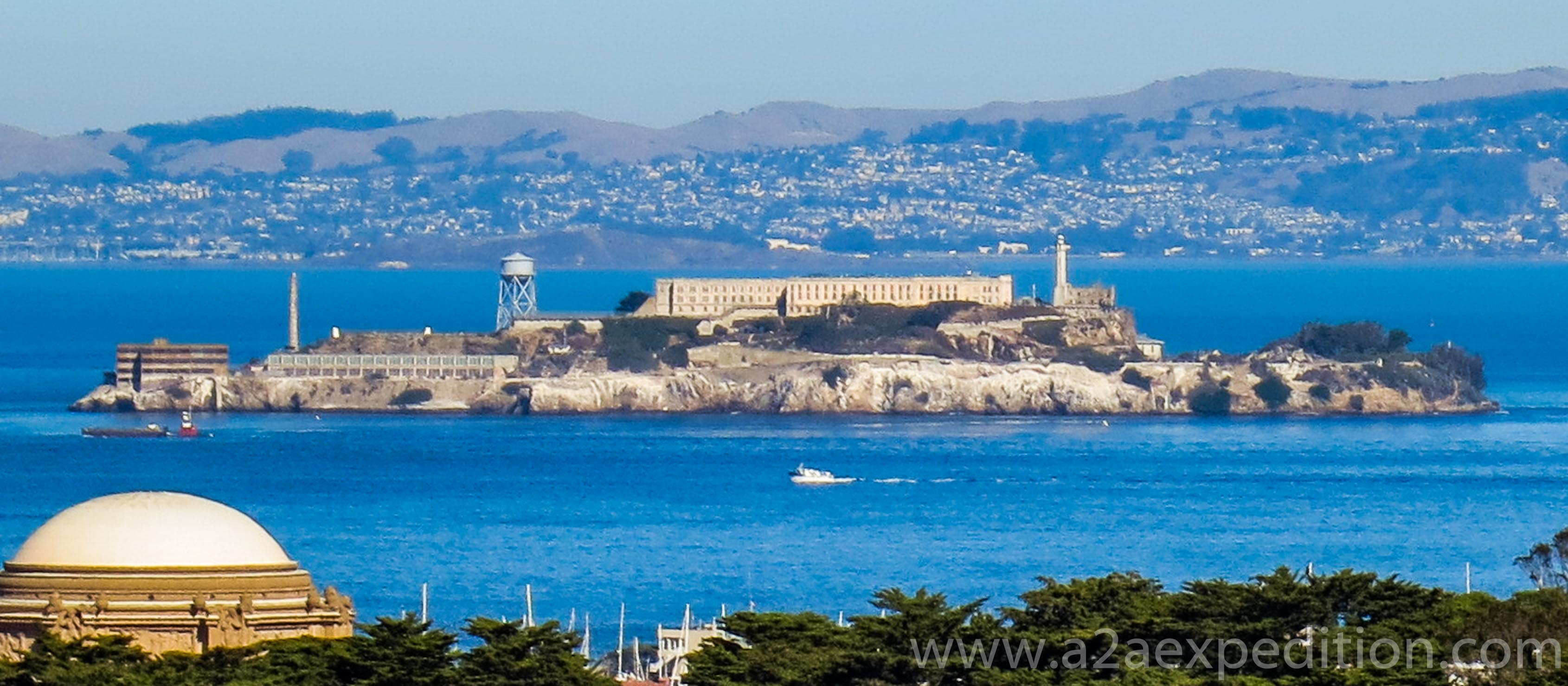 Alcatraz, A2A Expedition