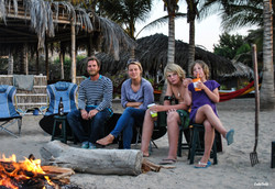 The gang, Mancora. A2A Expedition