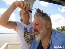 Amazon ferry haircut, A2A Expedition
